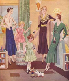 Flappers, Fringes and Golden Sparks: M&S in the '20s and '30s