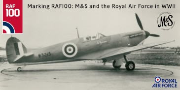 Marking RAF100: M&S and the Royal Air Force in WWII
