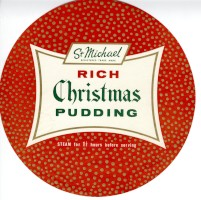 T600-48 Rich christmas pudding, c1960 (ID 13224)