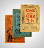We sold music from 1900 to 1920. It was so popular that people posted their penny to the stores, who sent the music out at no extra cost.