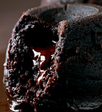 Melting middle chocolate puddings are one of our most successful products