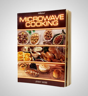 Microwave Cooking by Jenny Webb was donated by Mrs Gladys Smith, who bought it in 1983