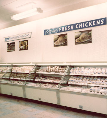 M&S was the first major British retailer to offer fresh, chilled chicken
